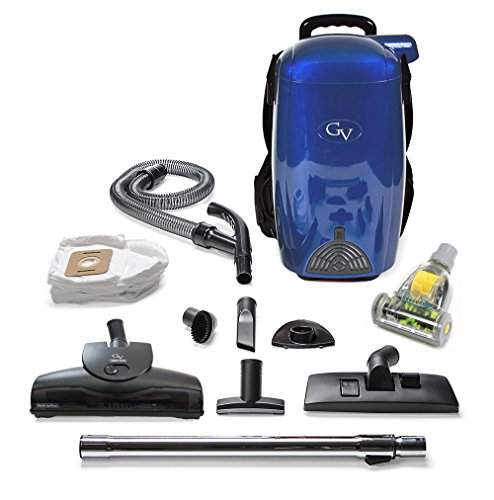 8 Qt Lightweight Powerful HEPA Backpack Vacuum