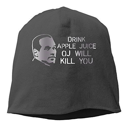 drink-apple-juice-oj-will-kill-you-platinum-style-beanie-cap