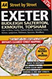 img - for Exeter: Budleigh Salterton, Exmouth, Topsham, Clyst St Mary, Cowley, Dawlish Warren, Exminster, Exton, Lympstone, Poltimore, S (AA Street by Street) book / textbook / text book