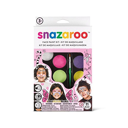 - Snazaroo Face Paint Palette Kit, Fantasy