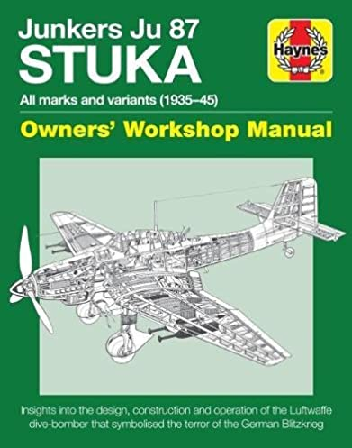 amazon com junkers ju 87 stuka owners workshop manual all marks rh amazon com junkers cerastar service manual junkers euroline service manual