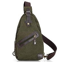 RoryTory Men Unbalance Chest Bag M01 / Crossbody Bag / Pack - Light Army Green