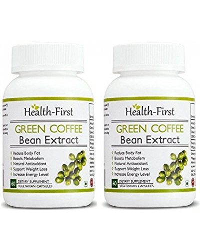 Green coffee bean Extract 50 % GCA Weight Loss Supplement 800 mg 120 capsules