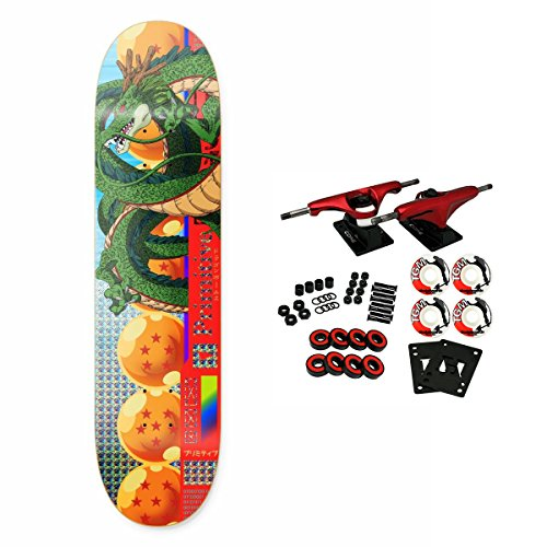 Primitive Dragon Ball Z Shenron Cell Skateboard Complete 7.8'' by Primitive (Image #5)