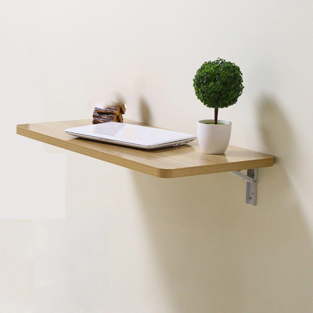 壁掛けラップトップデスク折りたたみライティングデスク壁掛けテーブルクラップボードシェルフカラーサイズオプション ( 色 : D , サイズ さいず : 60*40cm ) B07B3N3211 60*40cm D D 60*40cm