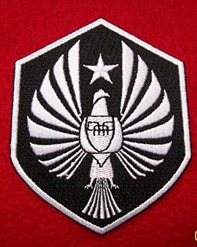 Pacific Rim - PPDC - pan pacific defense corps logo 100% embroidered iron on patches patches cosplay gispy danger eureka -