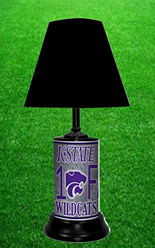 KANSAS STATE WILDCATS NCAA LAMP - BY TAGZ SPORTS