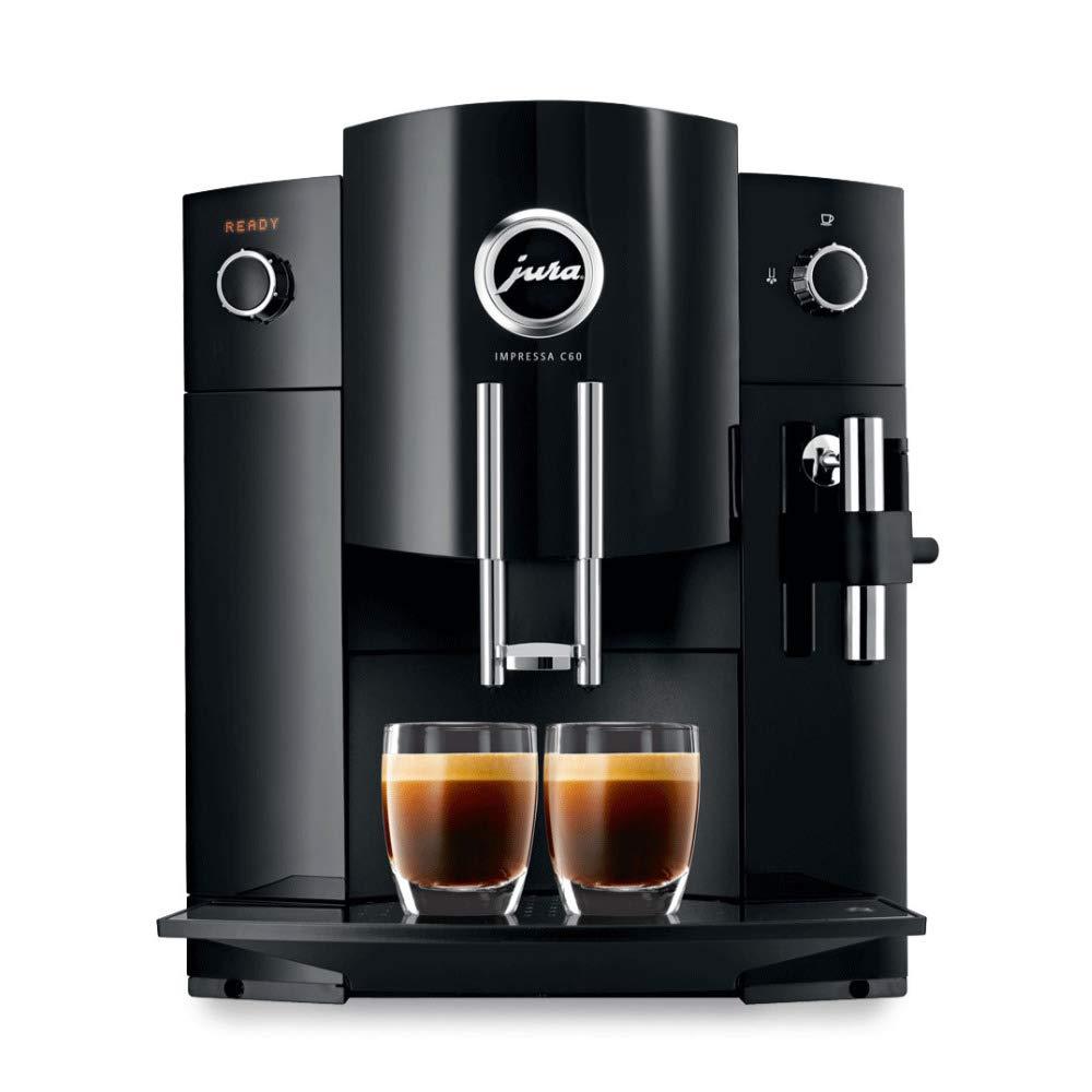 Jura 15006 Compact Impressa C60 Automatic Coffee Machine (Renewed) by Jura