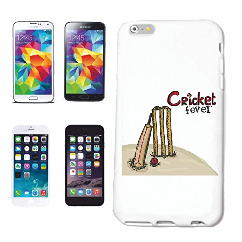 "cas de téléphone iPhone 6+ Plus ""CRICKET FEVER Lifestyle Mode STREETWEAR HIPHOP SALSA LEGENDARY"" Hard Case Cover Téléphone Covers Smart Cover pour Apple iPhone en blanc"