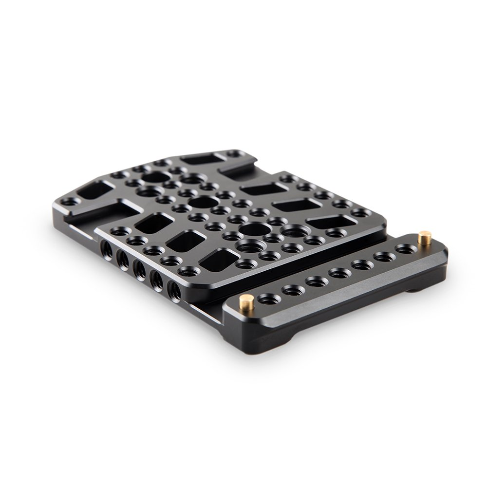 SMALLRIG Top Plate Cheese Mounting Plate for Blackmagic URSA Mini with Two Cold Shoe Mounted - 1853