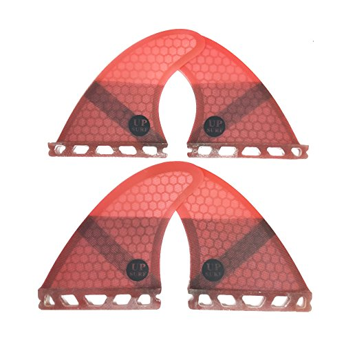 UPSURF Surfboard fins K2.1 Future Quad 4fins Surfing for sale  Delivered anywhere in USA