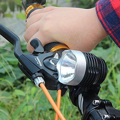 2000 Lumens Q5 Bicycle Light LED Bike Front Waterproof Lamp+ Holder - 9