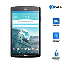 LG G Pad III/3 8.0 Screen Protector, IVSO LG G Pad III 8.0 Screen Protector Premium Crystal HD Clear Scratch Resistant -3 Pack for LG G Pad III/3 8.0 Tablet