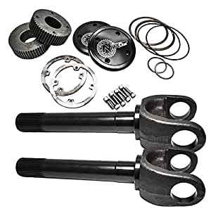 nitro axn46100 kit chromoly drive flange kit with 70 12 dana 60 stub axles for. Black Bedroom Furniture Sets. Home Design Ideas