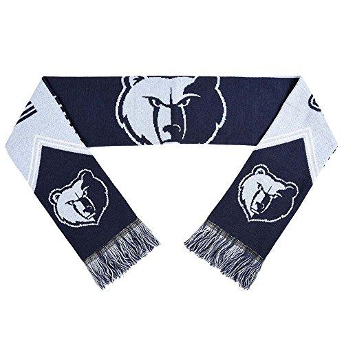 Memphis Grizzlies Scarf - Reversible Stripe - 2016