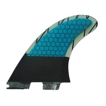 YQ Surf Fins G7 Compatible Modelo Fibra Vaso Núcleo Tabla De Surf Aleta De Empuje 3 Conjunto De Aletas: Amazon.es: Deportes y aire libre