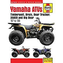 Yamaha Yfm350 Atv Owners Workshop Manual: Models Covered : Yfm350Er, 1987 Through 1995, Yfm350Fw (Big Bear), 1987 Through 1995