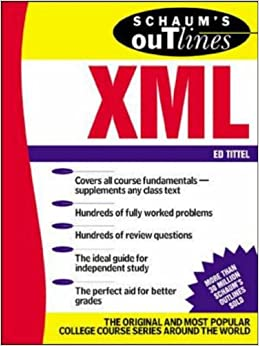 Book Schaum's Outline of XML (Schaum's Outline Series)