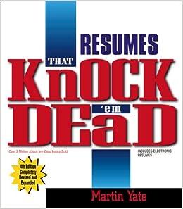 resumes that knock em dead 4th edition media tbd