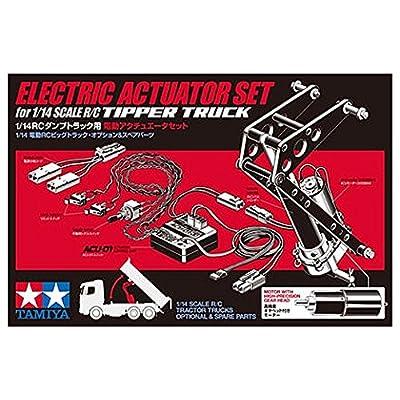 Tamiya 1: 14300056545ACU Drive Rear Dump Truck Set 1, Grey: Toys & Games