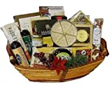Grand Deluxe Party Cheese, Meat & Nuts Basket