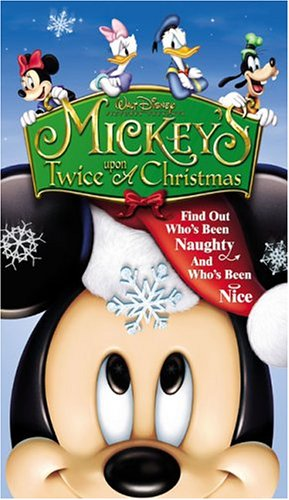 Click for larger image of Mickey's Twice Upon a Christmas [VHS]