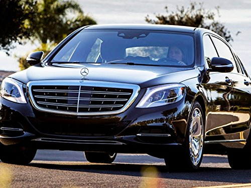 2015 Mercedes Maybach S600: Your Car Is Ready, Sir