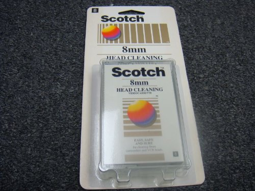 Scotch Professional 8mm Camcorder Head Cleaner by 3M