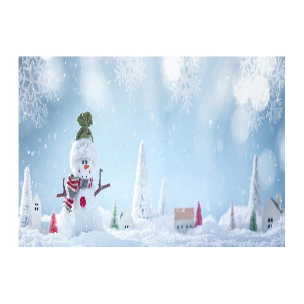 WinnerEco クリスマステーマ 写真撮影用背景幕 薄型 ビニール 防水 壁用背景 スタジオ小道具 写真 ビデオ テレビ用  Colorful(Christmas style10) B07HHCP3S2