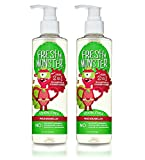 Baby : Fresh Monster Toxin-free Hypoallergenic 2-in-1 Kids Shampoo & Conditioner, Watermelon, 2 Count