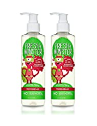 Fresh Monster Toxin-free Hypoallergenic 2-in-1 Kids Shampoo &...