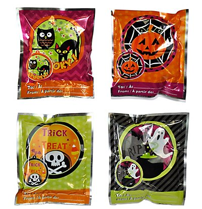 Halloween Wack-a-Pack Balloon Surprise 1 Package of 4 Self-inflating Foil (Self Inflating Balloons)