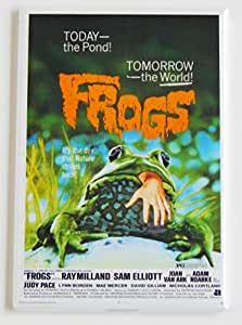 Frogs Movie Poster Fridge Magnet (2 x 3 inches)