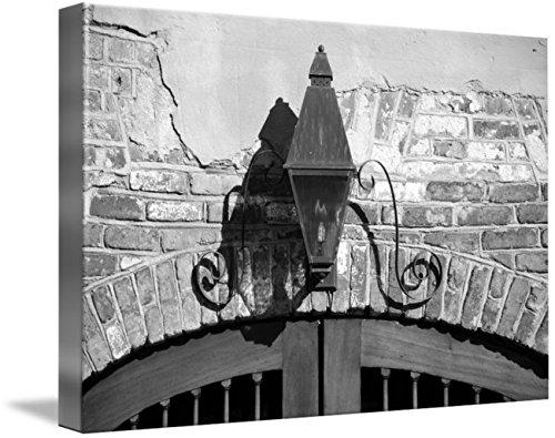 (Imagekind Wall Art Print Entitled Queen Street Gas Lamp #1 by Benjamin Padgett | 10 x)