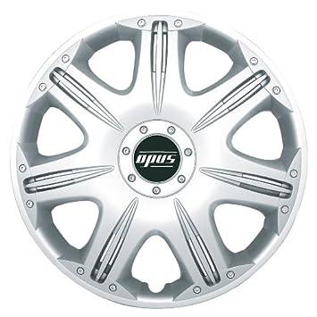 Petex Opus RB53011 Tapacubos (4 unidades) Single Lacquering ABS Plastic: Amazon.es: Coche y moto