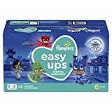 Pampers Easy Ups Training Underwear Boys Size 4 2T-3T 112 Countpackaging may vary