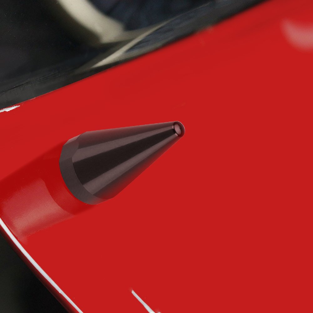 Grey 10 Piece Spike Motorcycle Fairing Bolts//Windshield Screws//Windscreen Bolts