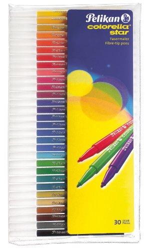 Pelikan 904854 - colorella star Fasermaler 30er Set