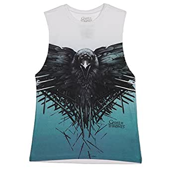 Game of Thrones Crow Women's Muscle Tank Top (XX-Large)