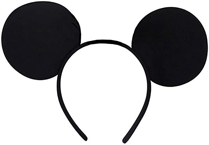 Card and Party Store Mickey Mouse Orejas Negro Diadema Disney ...