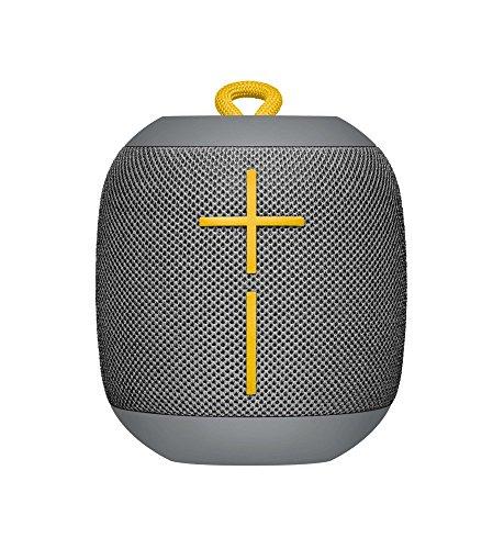 Logitech UE WONDERBOOM Portable Waterproof Bluetooth Speaker – Wireless Boom Box – Bulk Packaging – Stone Grey