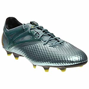 adidas Mens Messi 15.1 FG/AG Firm Ground/Artificial Grass Soccer Cleats 8 US, Matte Ice Metallic