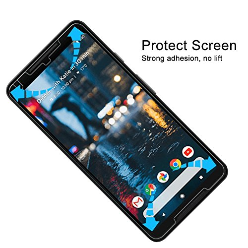 DeFitch Pixel 2 XL Glass Screen Protector, [ 2 Pack ] 9H
