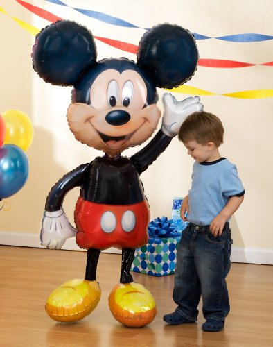 Anagram International Mickey Mouse Air Walker, Multi-Color (Dance Costumes On Line)