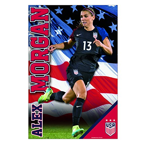 Alex Morgan Poster 2017 | Official Licensed Product | Away Jersey