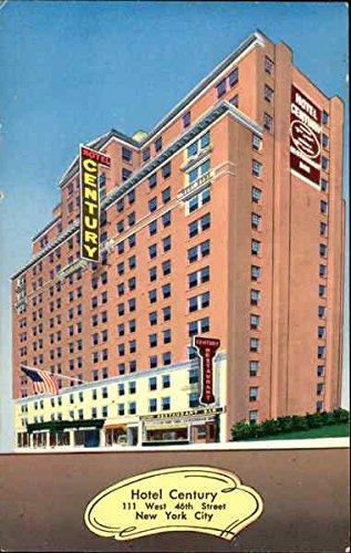 (Hotel Century, 111 West 46th Street New York, New York Original Vintage Postcard )