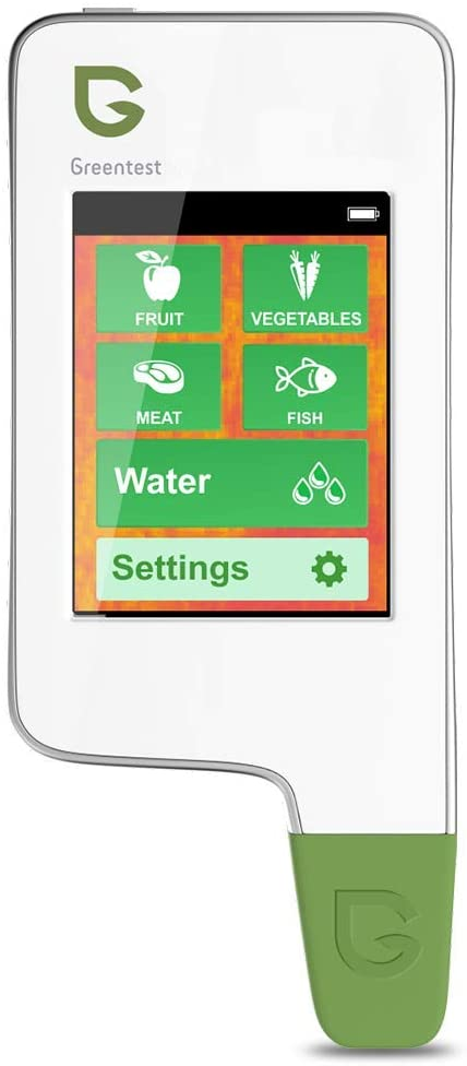 Greentest Drinking Water Quality Tester TDS Meter Analyser PPM + Food Digital Detector Nitrate Tester for Fruit,Vegetable,Meat Water and Fish