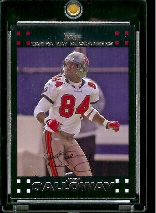 2007 Topps Football # 188 Joey Galloway - Tampa Bay Buccaneers - NFL Trading Cards