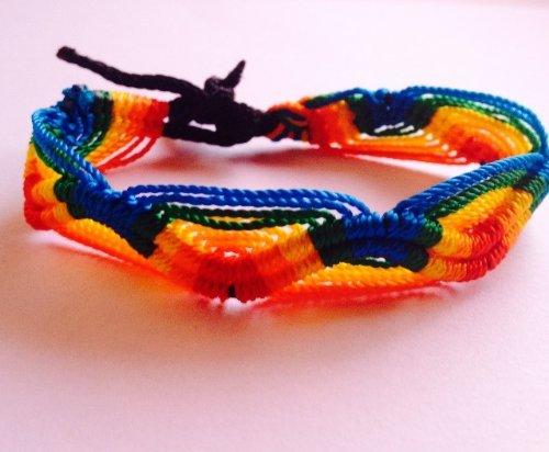 Wholesale Lot of 100 Peruvian Friendship Bracelets by Sanyork Fair Trade (Image #6)