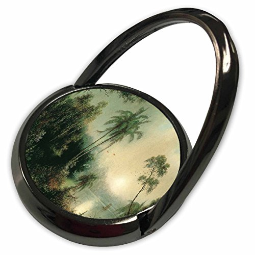 Painting Heade (3dRose Florene Vintage Art - Image of Heades 1800s Painting Sunrise In Nicaragua - Phone Ring (phr_237445_1))